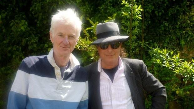 Peter Hammill and Gary Lucas
