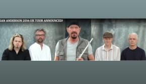 Jethro Tull 2014 tour banner