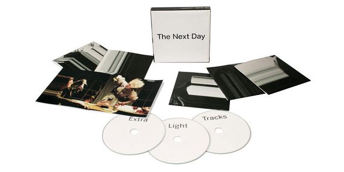 David Bowie ~ The Next Day three disc set
