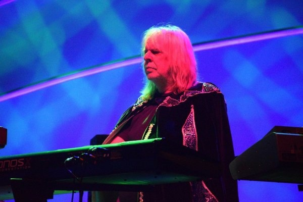 Rick Wakeman, photo courtesy of Matthew North Music