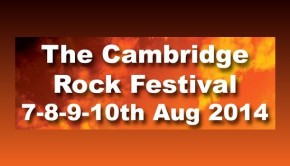 Cambridge Rock Festival banner