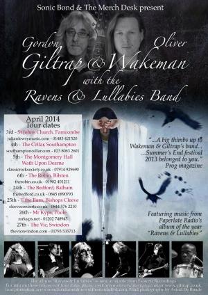 Giltrap Wakeman poster