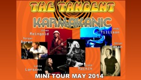 The Tangent & Karmakanic Tour Poster