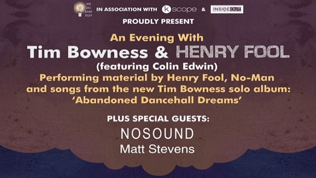 An Evening with Tim Bowness & Henry Fool
