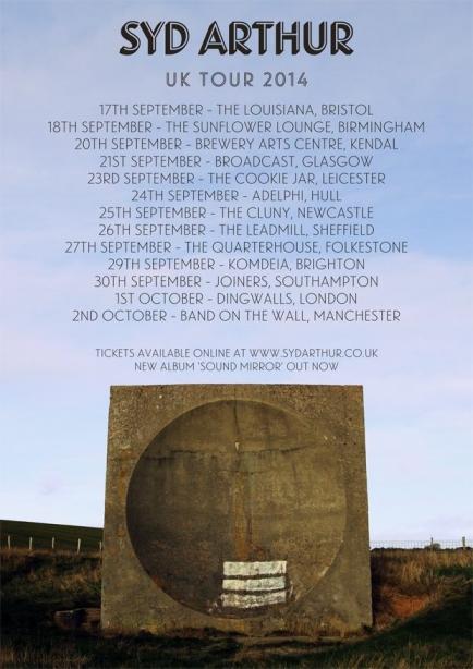 Syd Arthur UK Tour 2014