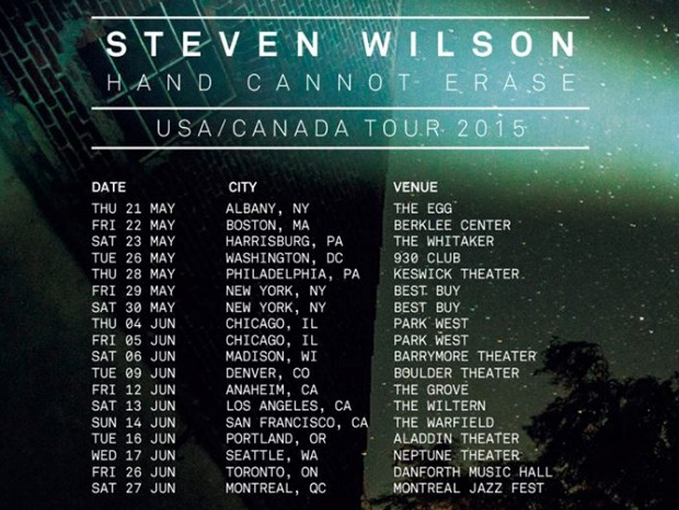 SW US/Canada Tour Dates