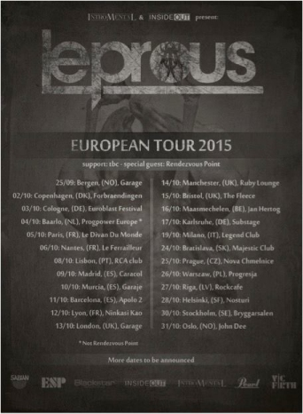 Leprous Poster 2015