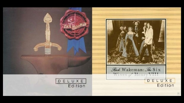 Rick Wakeman deluxe re-issues