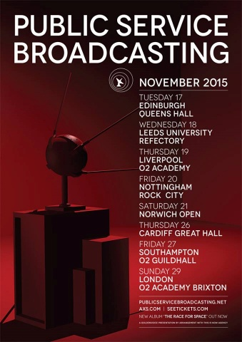 Public Service Broadcasting poster