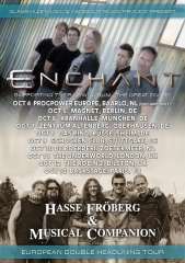 Enchant | Hasse Froberg & The Musical Companion 2015 poster