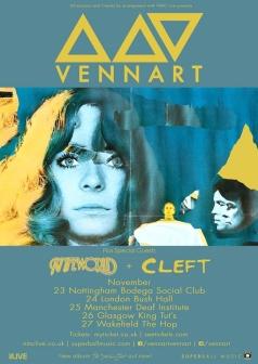 Vennart Tour poster