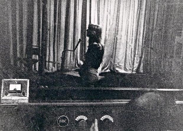 Linda Hoyle In Maida Vale studios 1970
