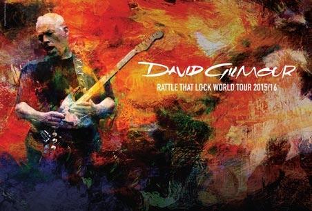 David Gilmour tour poster