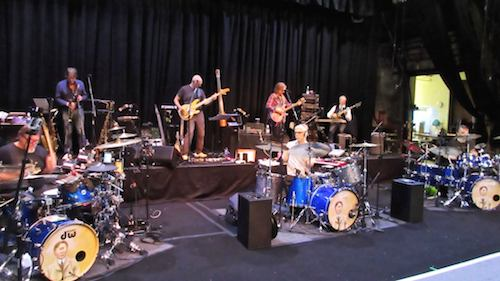 King Crimson in rehearsal - courtesy Sid Smith/DGM