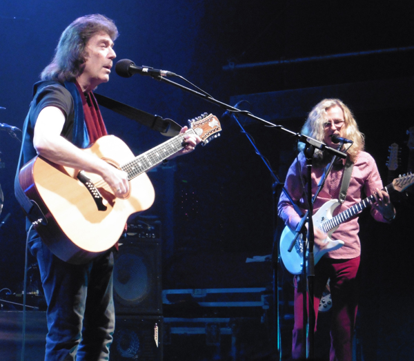 Steve Hackett and Roine Stolt - photo by Gary Marshall