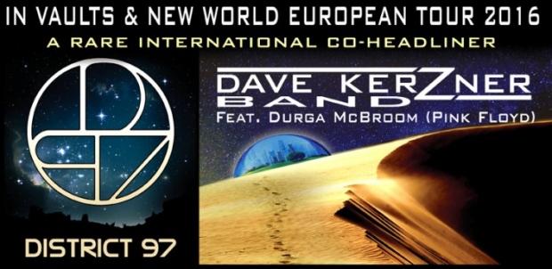 Dave Kerzner Band 2016 Tour Poster