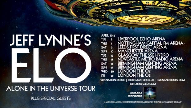ELO Tour Dates 2016