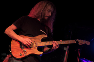 The Aristocrats - Guthrie Govan - photo by Mike Evans