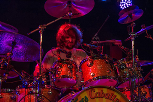 The Aristocrats - Marco Minnemann - photo by Mike Evans