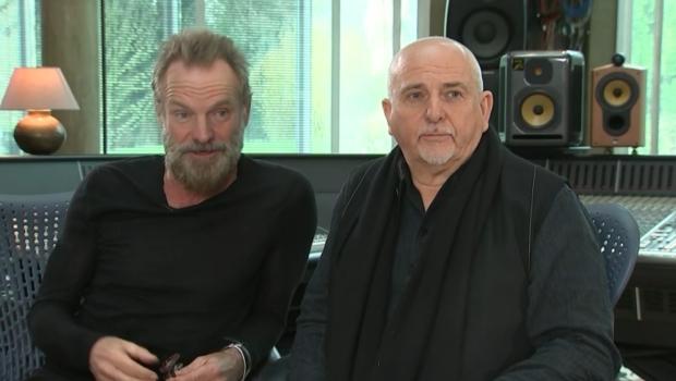 Peter Gabriel & Sting