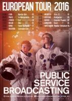 PSB European tour poster