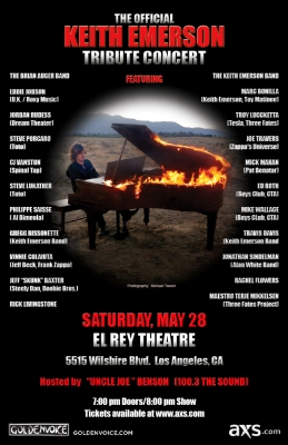 Keith Emerson Tribute Concert