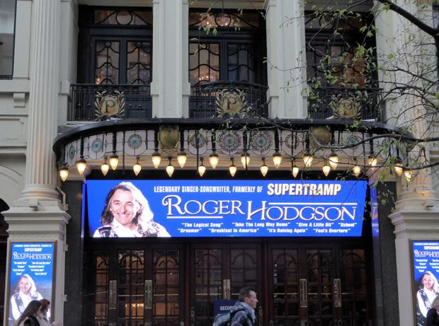 Roger Hodgson at The Palladium