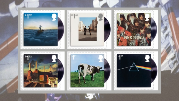 Royal Mail - Pink Floyd stamps