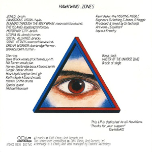 Zones - back cover