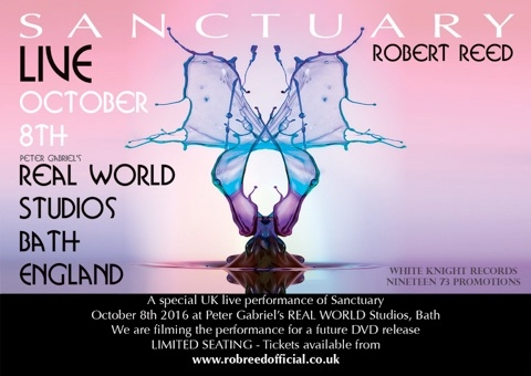 Rob Reed - Sanctuary concert poster