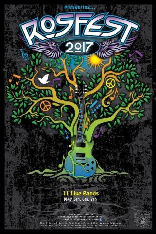 RosFest2017 poster