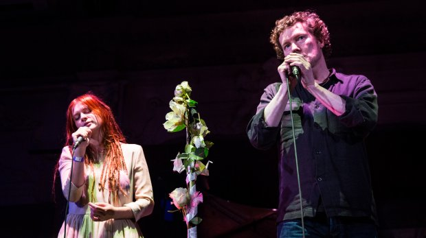 Marjana Semkina & Tim Bowness - photo by Marie Forker / www.forkerfotos.com