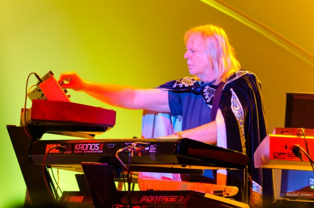 Rick Wakeman - photo by Mike Strauss