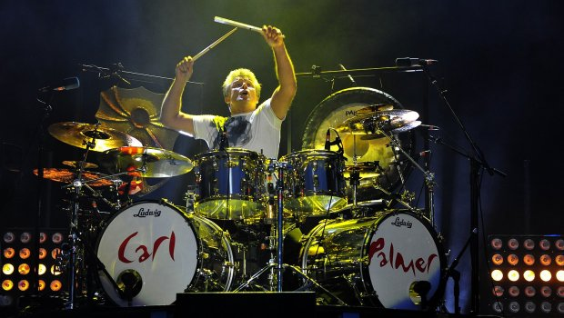 Carl Palmer - Photo by Michael Inns. Copyright 2016 Carl Kendall-Palmer