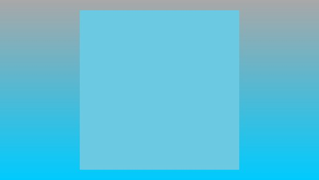Flat White - Blue Square