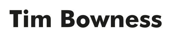 Tim Bowness - Logo
