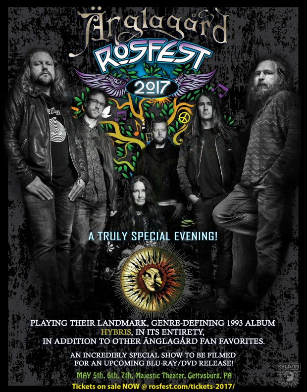Anglagard Rosfest Poster