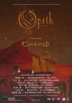 Opeth Poster 2017