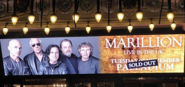Marillion at The Palladium