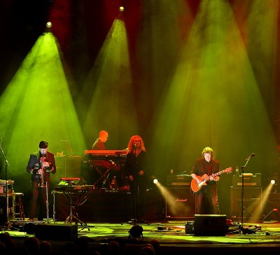 Steve Hackett band - Birmingham DVD, photo by Lee Millward