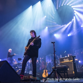 Steve Hackett with Orchestra - Photo by Armando Gallo