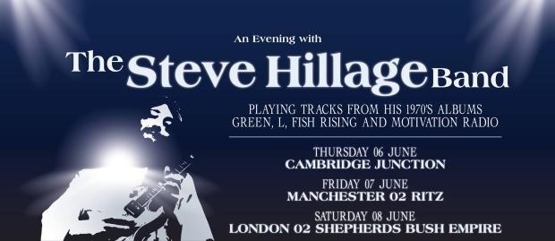 Steve Hillage banner