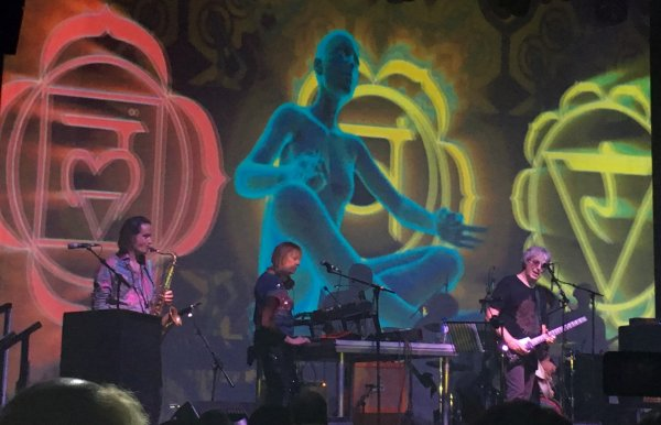 Steve Hillage Band 2 - photo by Leo Trimming