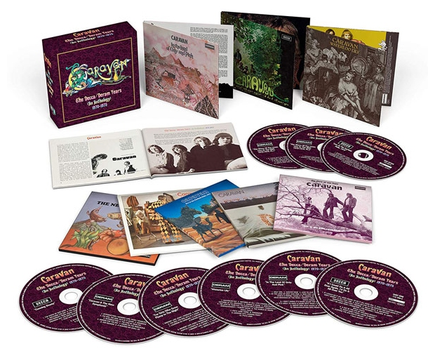 Caravan- The Decca/Deram Years Box-set