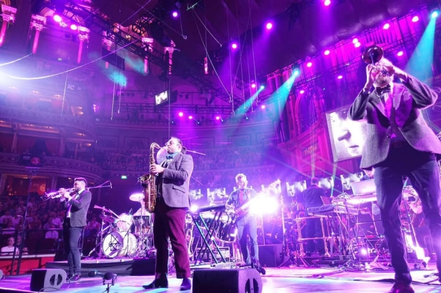 Public Service Broadcasting 'The Brassy Gents' at Royal Albert Hall 2019