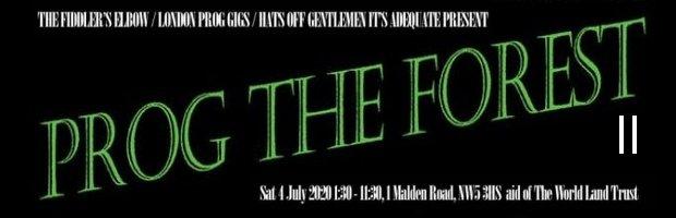 Prog The Forest II - TPA Festival Guide banner