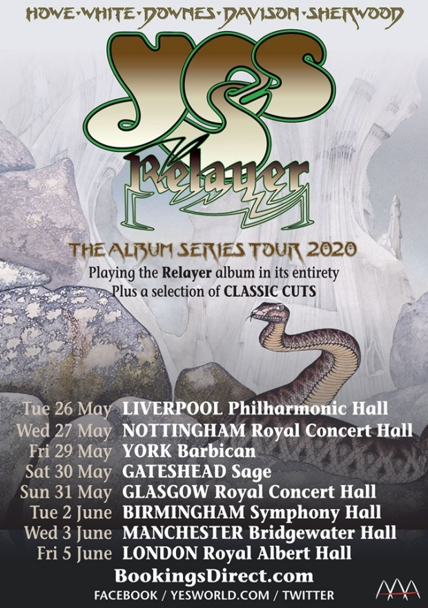 Yes - The Album Series Tour 2020