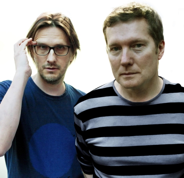 no-man Steven Wilson & Tim Bowness