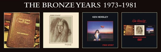 Ken Hensley - The Bronze Years banner