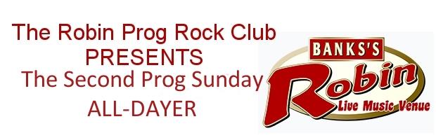 Robin Prog Rock Prog Sunday - TPA Banner
